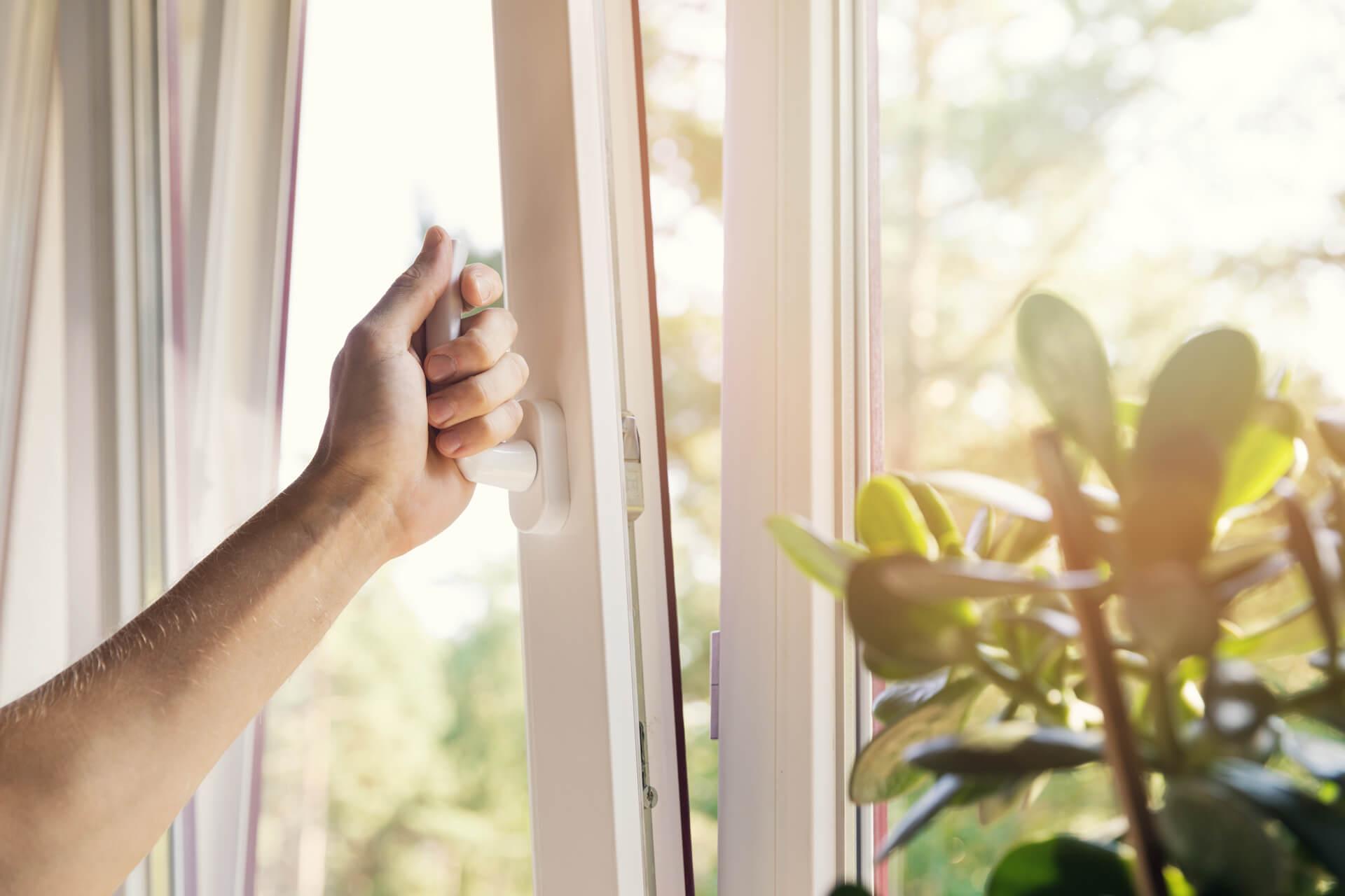 Otwieranie okna z PVC