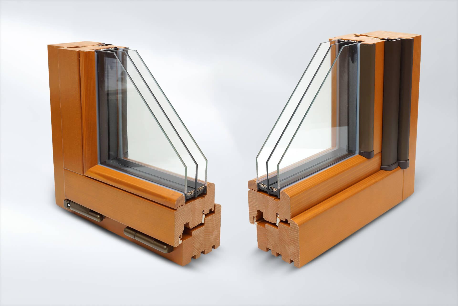Drewniany profil okienny