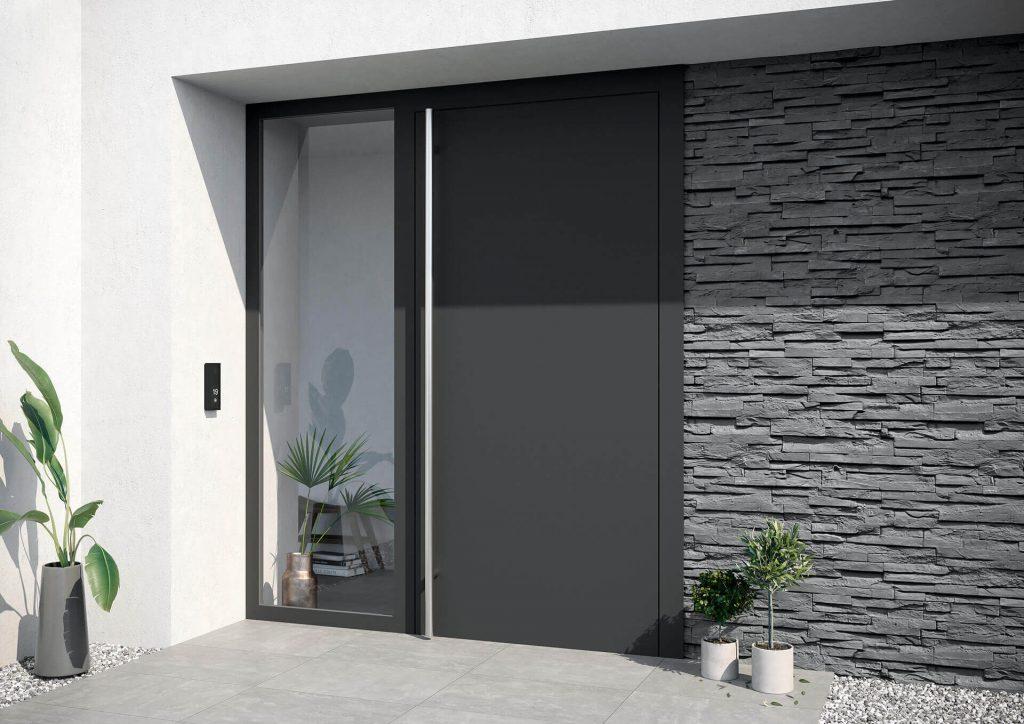 Drzwi wejściowe z aluminium