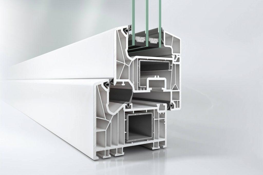 Profil okienny z PVC