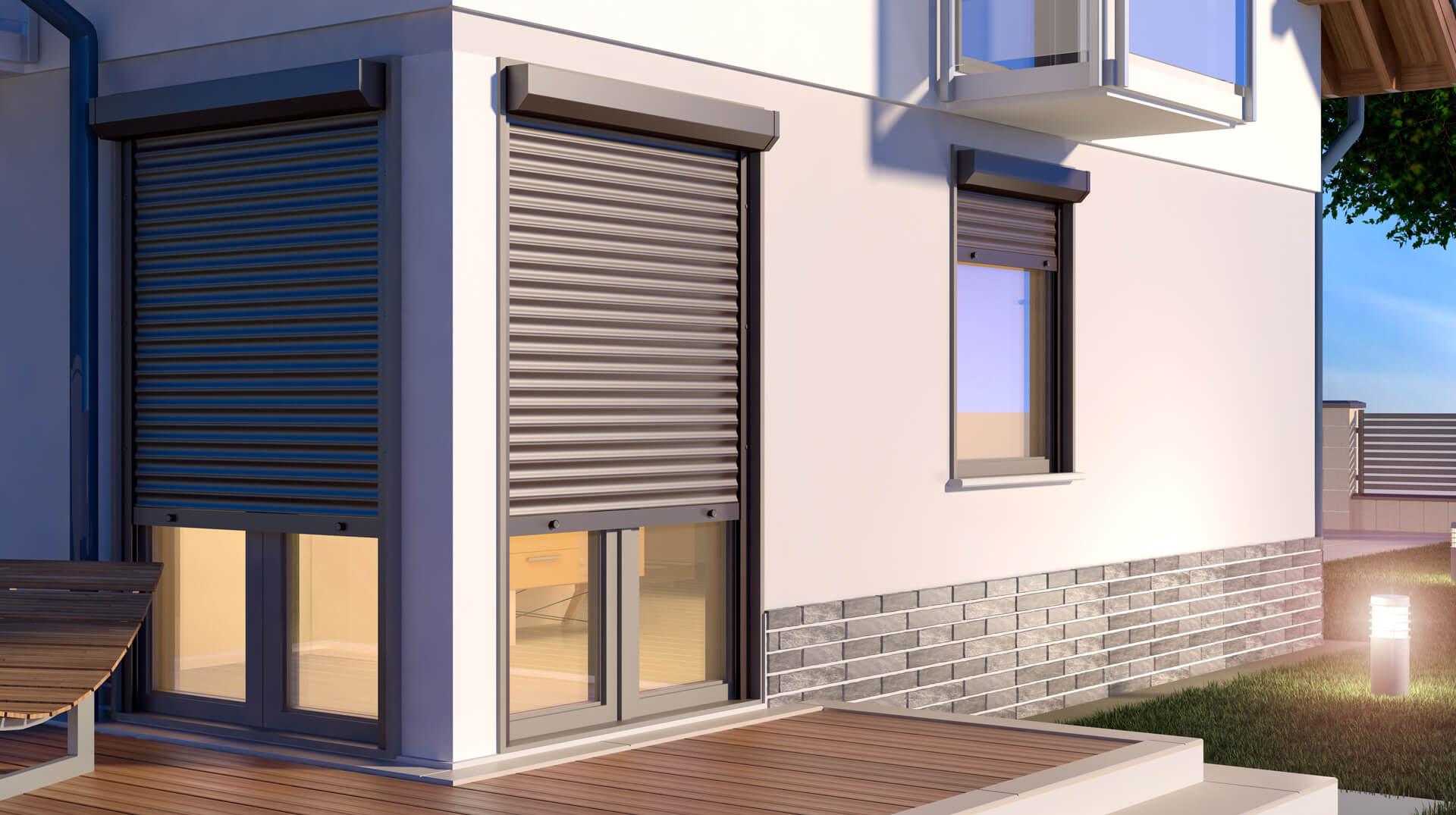 Roleta zewnętrzna na oknie