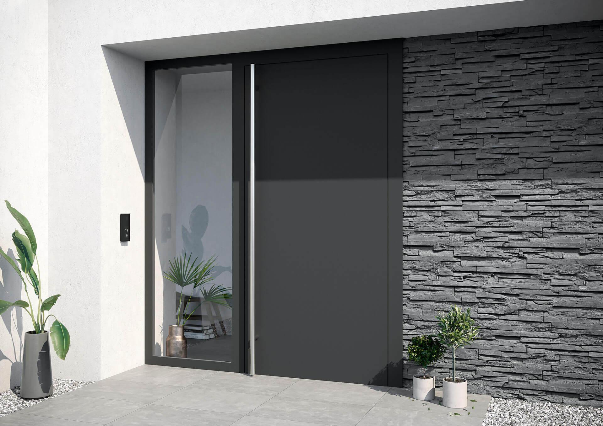 Drzwi wejściowe z PVC